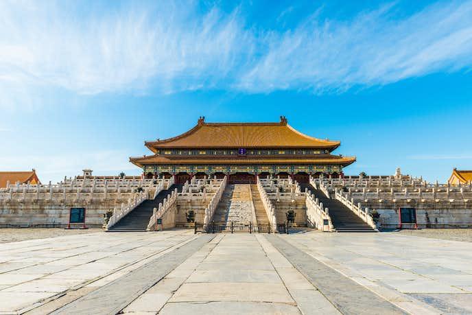 中国おすすめの観光スポット「太和殿」