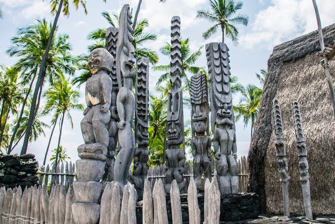 ハワイ島のおすすめ観光スポット「プウホヌア・オ・ホナウアウ公園」