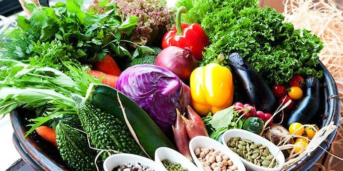 サンクスネイチャーは野菜が美味しい
