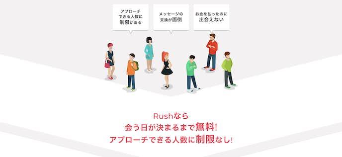 札幌のおすすめの出会いの場はRushの合コン1