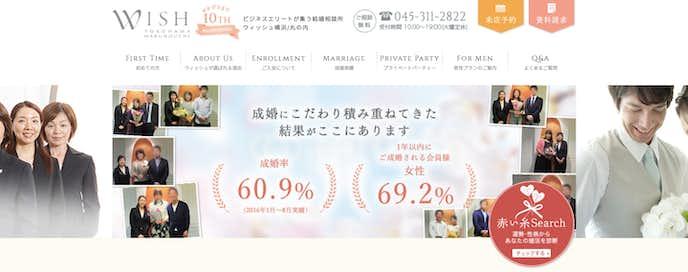 東京のおすすめ結婚相談所はマリッジクラブ・ウィッシュ横浜