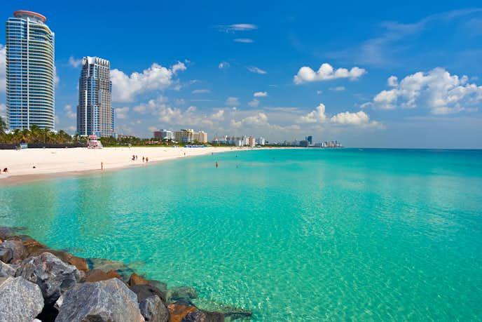 マイアミのおすすめ観光スポットはマイアミビーチ