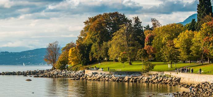 バンクーバーのおすすめ観光スポット「スタンレー公園」