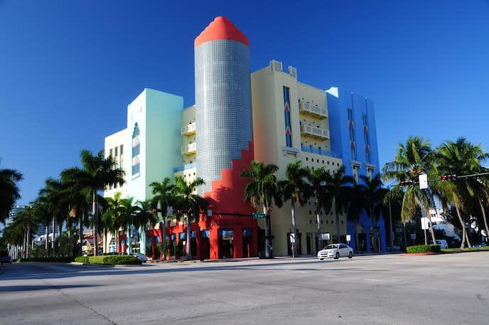 フロリダのおすすめ観光地はアールデコ地区