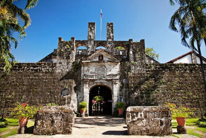 セブでおすすめの観光スポット「サンペドロ要塞」