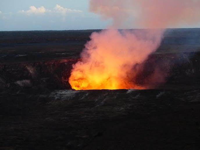 ハワイ・ハワイ島のおすすめ観光スポット「キラウエア火山」