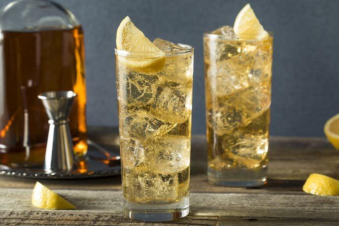ウイスキーの美味しい飲み方「ジンジャーハイ」
