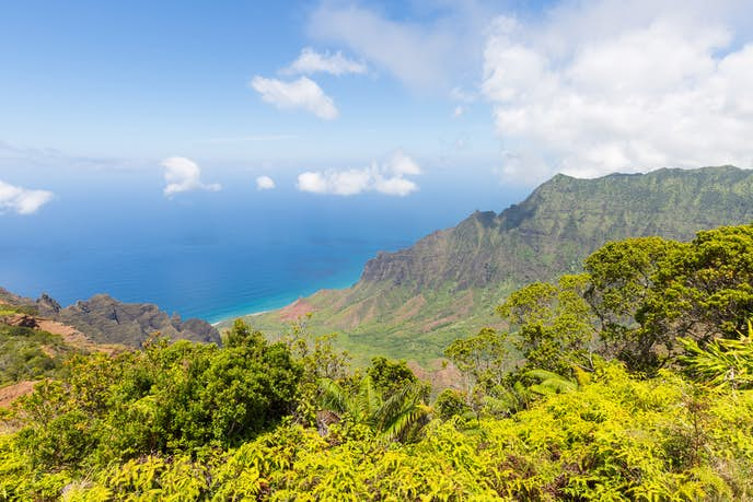 ハワイ・カウアイ島のおすすめ観光スポット「ナパリコースト」