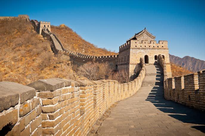 中国おすすめの観光スポット「慕田峪長城」
