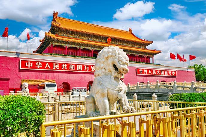 中国でおすすめの観光スポット「天安門広場」