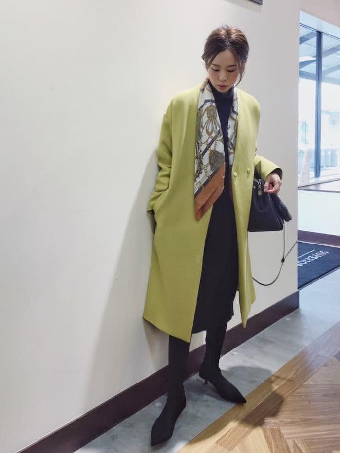 40代女性の冬のお見合いの服装4
