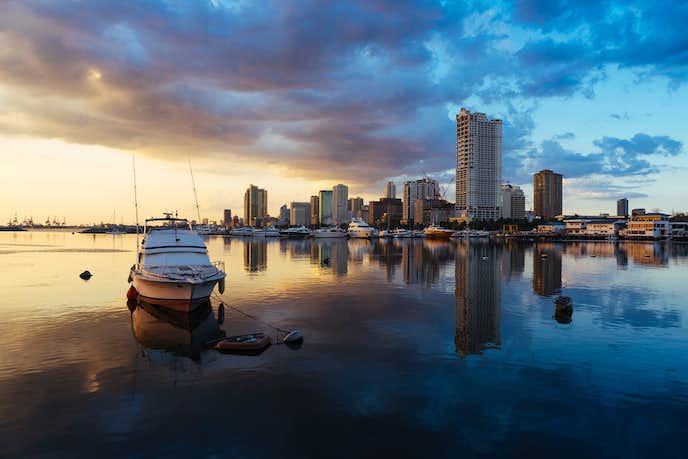マニラでおすすめの観光地はマニラ湾