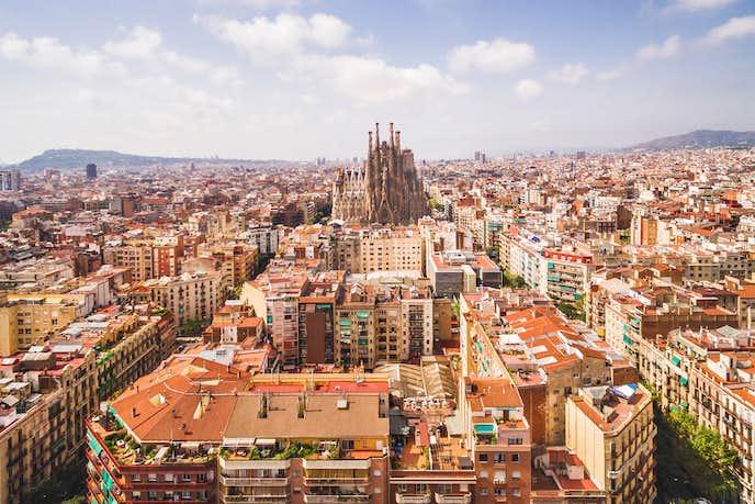 スペインでおすすめの観光地はバルセロナ