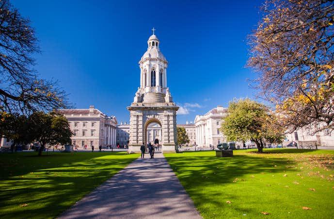 アイルランドでおすすめの観光地はトリニティ・カレッジ