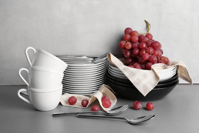 食器の素材は主に3種類ある