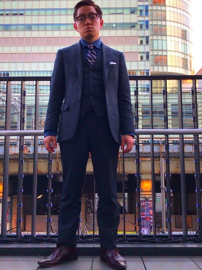 20代男性のお見合いの服装画像4