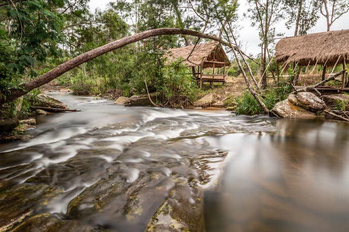 カンボジアでおすすめの観光地はキリロム国立公園