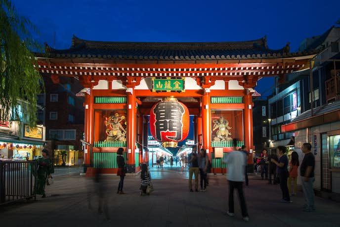 浅草でおすすめの観光地は浅草寺