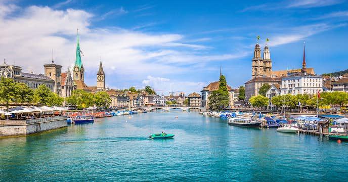 スイスでおすすめの観光地はチューリッヒ湖