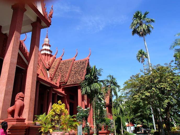 カンボジアでおすすめの観光地はプノンペン国立博物館
