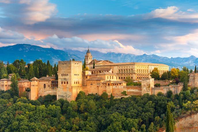 スペインでおすすめの観光地はグラナダ