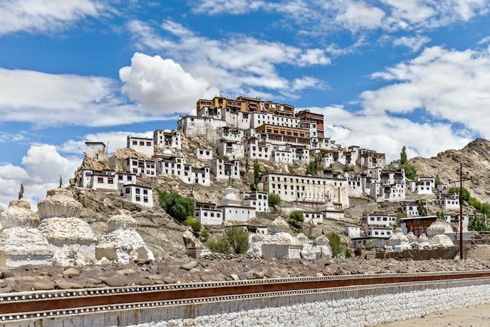 インドでおすすめの観光地はティクセ・ゴンパ
