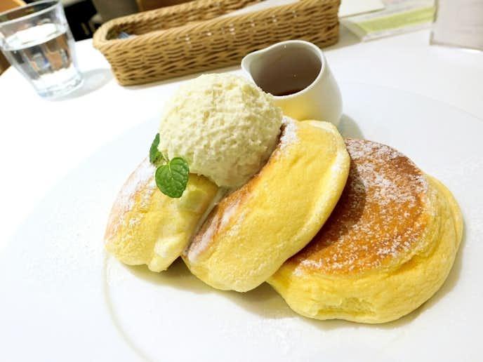 東京のおすすめパンケーキ専門店「幸せのパンケーキ」
