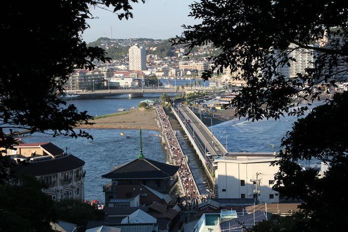 江ノ島でおすすめの観光地は弁天橋