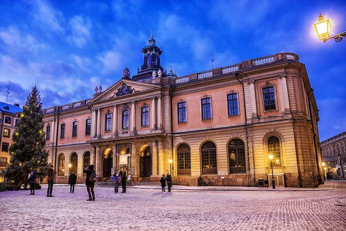 スウェーデンでおすすめの観光地はノーベル賞博物館