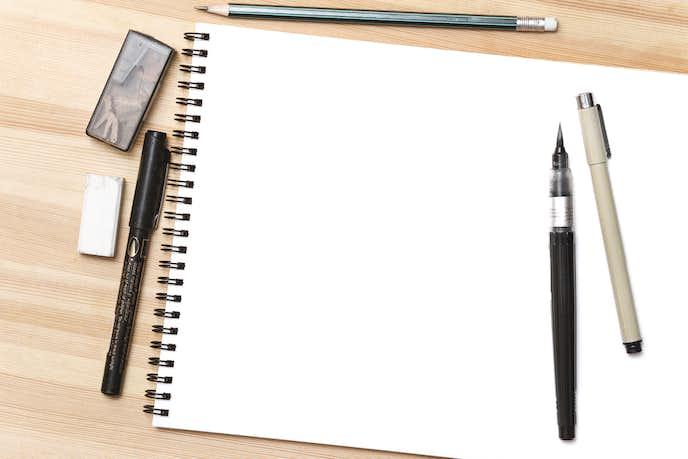 筆ペンの種類