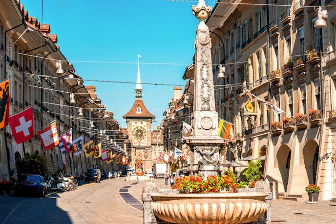 スイスでおすすめの観光地はツィットグロッゲ(時計塔)