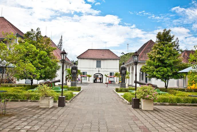 インドネシアでおすすめの観光地はフレデブルク要塞博物館
