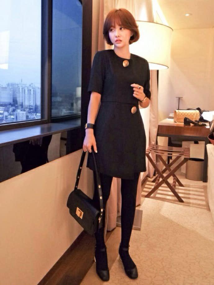30代女性の冬のお見合いの服装1