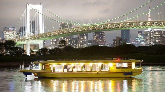 夏デートのおすすめは江戸前汽船