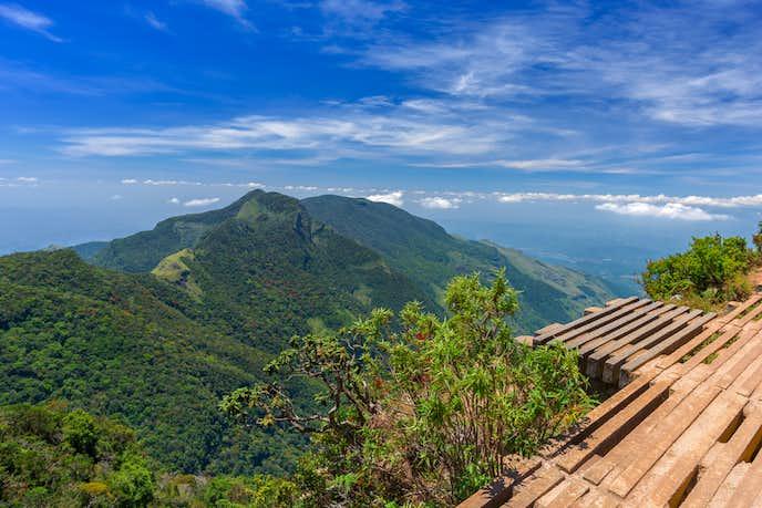 スリランカでおすすめの観光地はホートン・プレインズ国立公園
