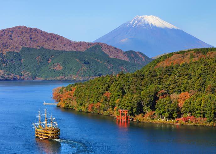 箱根でおすすめの観光地は芦ノ湖
