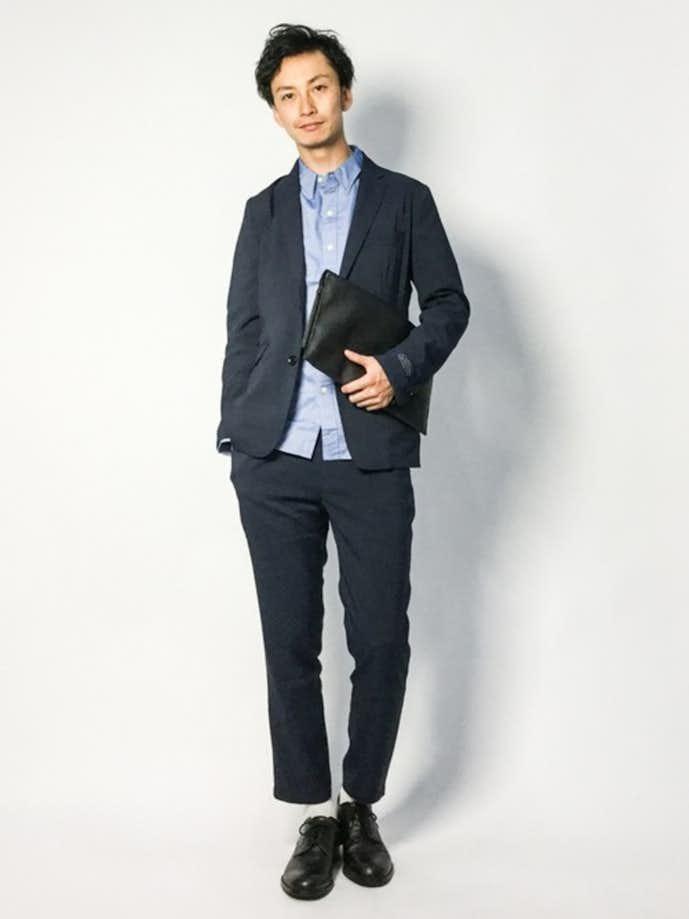 20代男性のお見合いの服装画像1