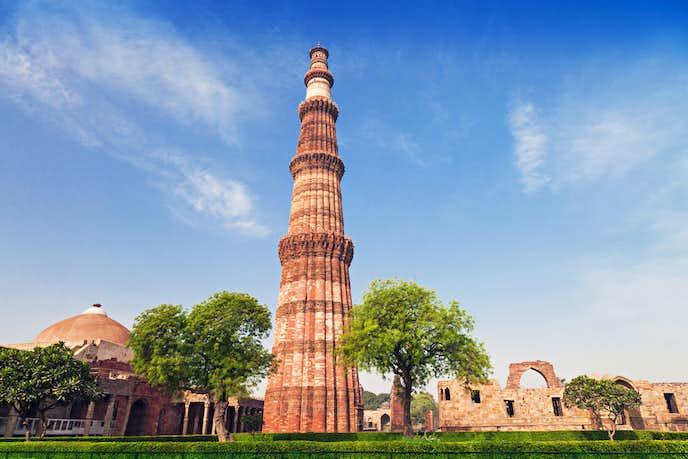 インドでおすすめの観光地はクトゥブ・ミナール