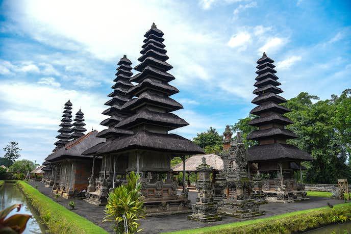インドネシアでおすすめの観光地はタマンアユン寺院