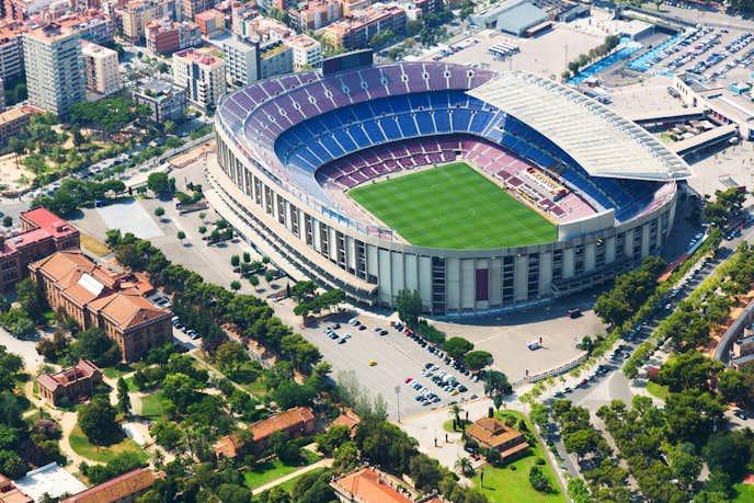 バルセロナでおすすめの観光地はカンプ ノウ スタジアム