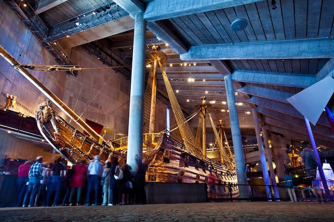 ストックホルムでおすすめの観光地はヴァーサ博物館