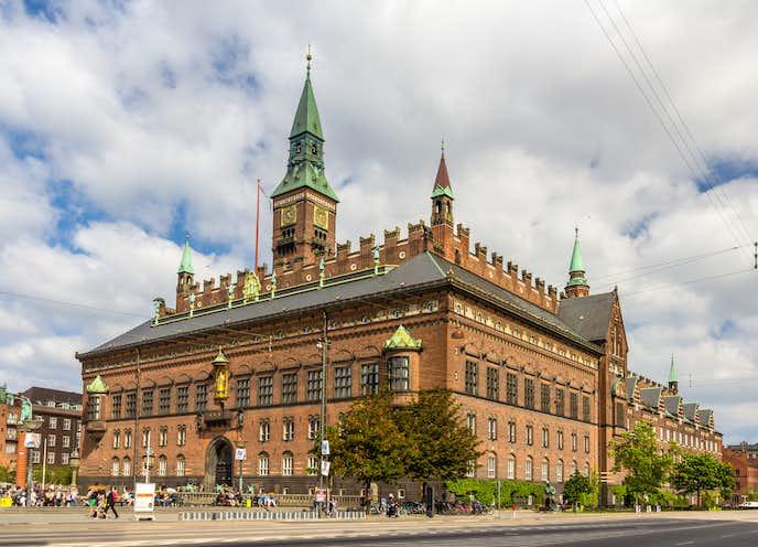 コペンハーゲンでおすすめの観光地はコペンハーゲン市庁舎