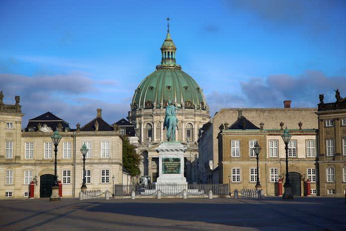コペンハーゲンでおすすめの観光地はフレデリクス教会