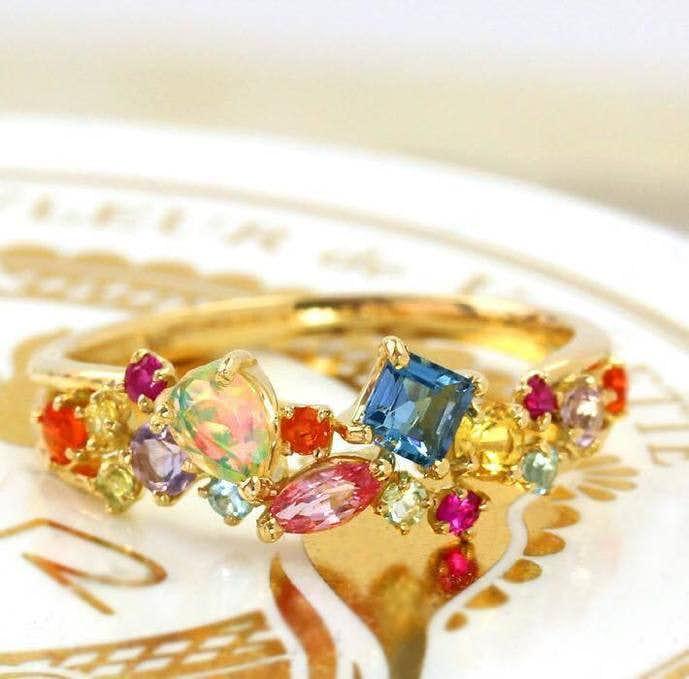彼女へのクリスマスプレゼントに贈りたいビズーの指輪