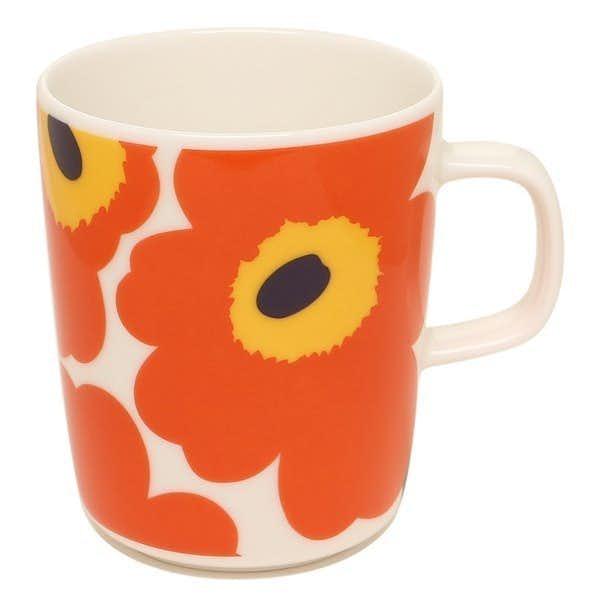女性への2000円以内のプレゼントはマリメッコのカップ