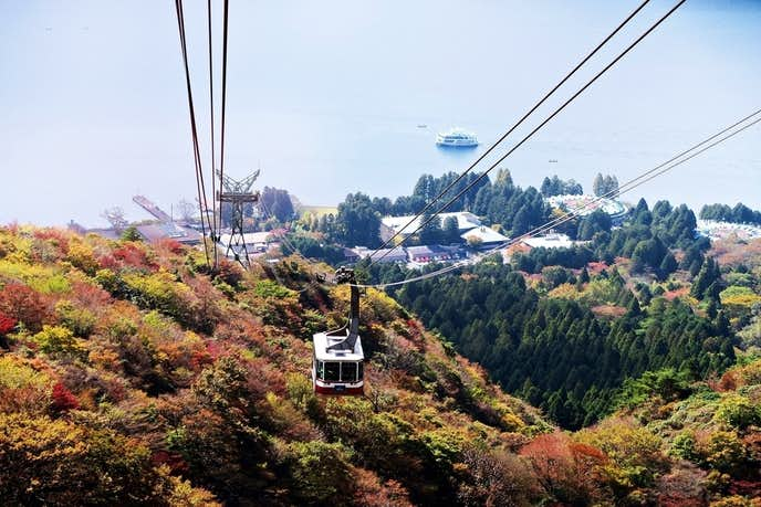 箱根でおすすめの観光地は駒ヶ岳ロープウェイ