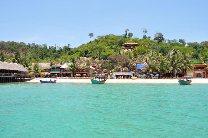 カンボジアでおすすめの観光地はロン島