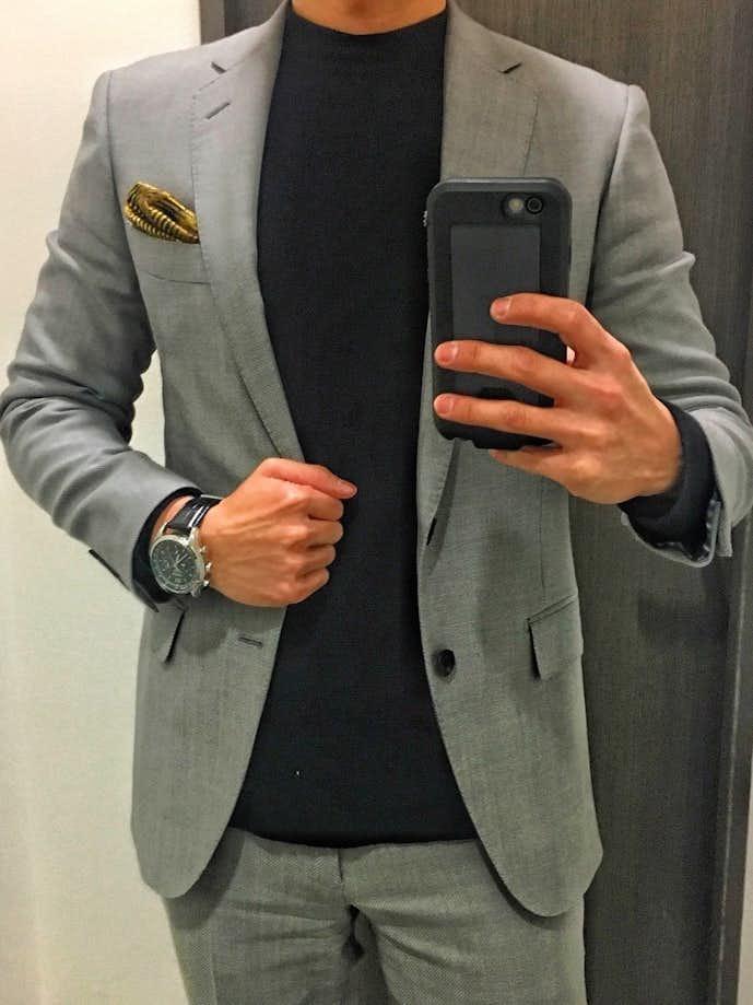 30代男性のお見合いの服装画像6