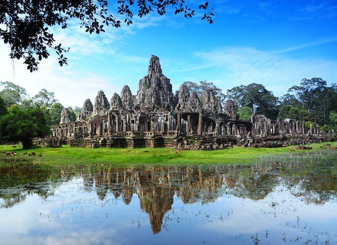カンボジアでおすすめの観光地はアンコールトム
