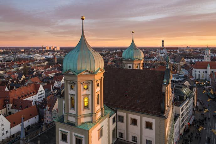 ドイツでおすすめの観光地はアウクスブルク